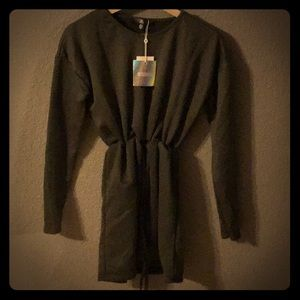 Misguided military green dress